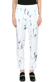 3.1 PHILLIP LIM Draped silk trousers