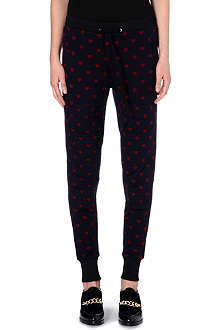 3.1 PHILLIP LIM Heart-print jogging bottoms