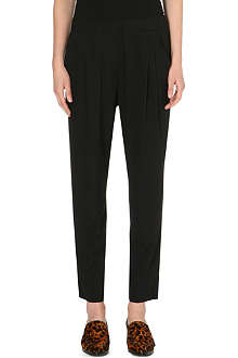3.1 PHILLIP LIM Pleated stretch-silk trousers