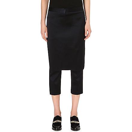 3.1 PHILLIP LIM Apron trousers (Navy/black