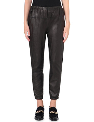 3.1 PHILLIP LIM Leather trousers