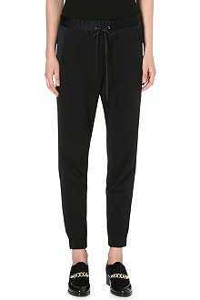 3.1 PHILLIP LIM Satin-panel jogging bottoms