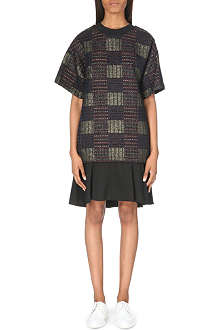 3.1 PHILLIP LIM Jacquard contrast dress