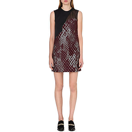 3.1 PHILLIP LIM Patchwork dress (Pewter