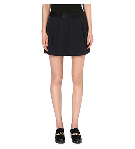 3.1 PHILLIP LIM Bermuda crepe shorts (Midnight