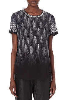 3.1 PHILLIP LIM Embellished-neck top