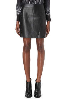 3.1 PHILLIP LIM A-line leather mini skirt