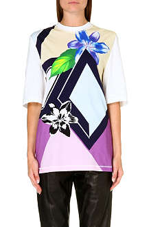 3.1 PHILLIP LIM Floral-print cotton top