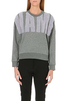 3.1 PHILLIP LIM Appliqué-detail jersey sweatshirt