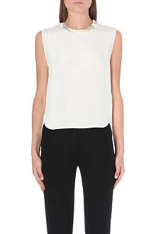 3.1 PHILLIP LIM Twilight embellished silk top