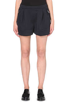 3.1 PHILLIP LIM High-shine pleated shorts