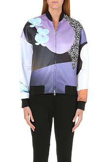 3.1 PHILLIP LIM Floral-print satin bomber jacket