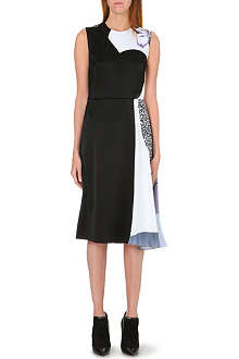 3.1 PHILLIP LIM Draped-side satin dress