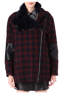3.1 PHILLIP LIM Shearling-collar coat