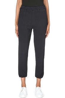 3.1 PHILLIP LIM Textured stretch-jersey jogging bottoms