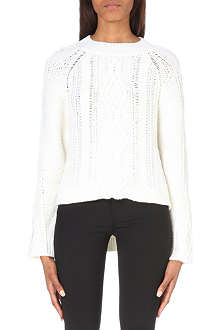 3.1 PHILLIP LIM Cable-knit wool jumper