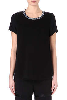 3.1 PHILLIP LIM Embellished neckline top