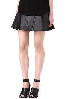 3.1 PHILLIP LIM Leather peplum skirt