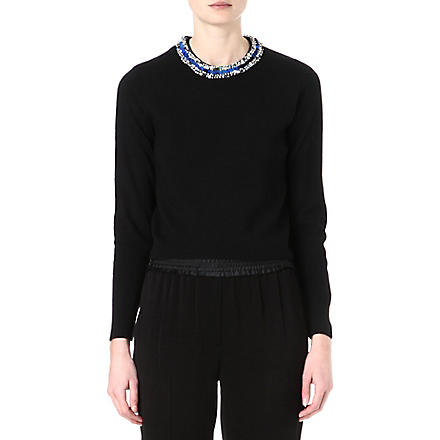 3.1 PHILLIP LIM Embellished jumper (Black