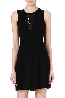 3.1 PHILLIP LIM Sequin-embellished knitted dress