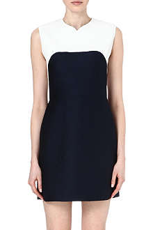 3.1 PHILLIP LIM Contrast leather dress