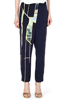 3.1 PHILLIP LIM Tapered silk trousers