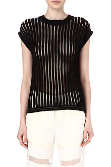 3.1 PHILLIP LIM Sheer knitted jumper
