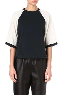 3.1 PHILLIP LIM Baseball short-sleeved top