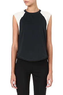 3.1 PHILLIP LIM Baseball sleeveless top