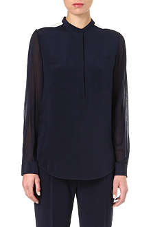 3.1 PHILLIP LIM Colour-blocked silk shirt