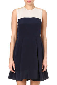3.1 PHILLIP LIM Colour-blocked silk dress