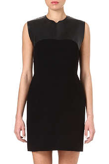 3.1 PHILLIP LIM Leather-panel dress