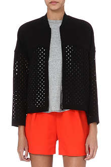 3.1 PHILLIP LIM Laser-cut bomber jacket
