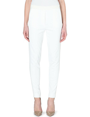 3.1 PHILLIP LIM Trapunto skinny high-rise cotton trousers