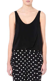 3.1 PHILLIP LIM Twisted hem vest top