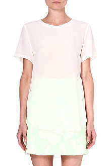 3.1 PHILLIP LIM Short-sleeved silk t-shirt