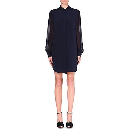 3.1 PHILLIP LIM Silk shirtdress (Navy