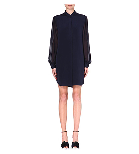 3.1 PHILLIP LIM Silk shirtdress (Navy