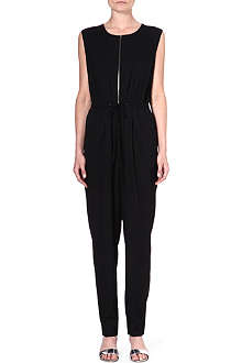 3.1 PHILLIP LIM Sleeveless stretch-silk jumpsuit