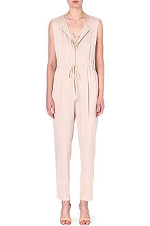 3.1 PHILLIP LIM Zip-front silk jumpsuit