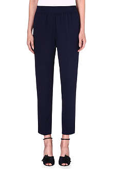 3.1 PHILLIP LIM Smocked-waistband silk trousers