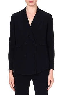 3.1 PHILLIP LIM Pyjama double-breasted silk blazer