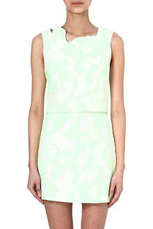3.1 PHILLIP LIM Abstract neckline top