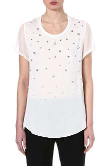 3.1 PHILLIP LIM Beaded silk-blend top
