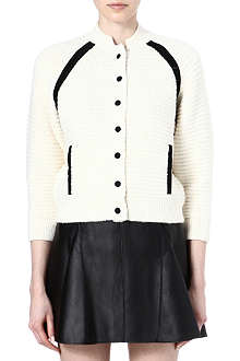 3.1 PHILLIP LIM Ribbed-knit bomber jacket