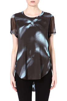 3.1 PHILLIP LIM Printed silk top