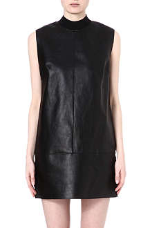 3.1 PHILLIP LIM Fringed-back leather dress