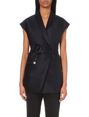 3.1 PHILLIP LIM Belted wool-blend jacket