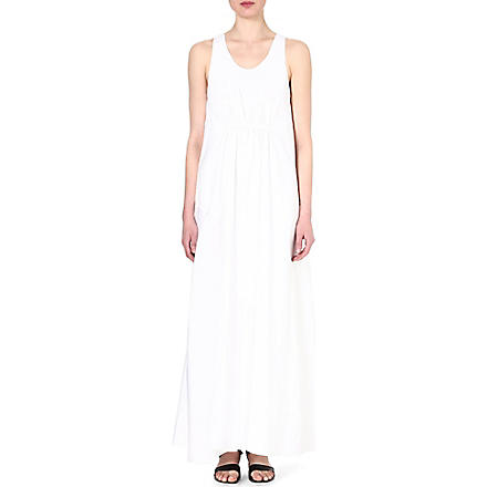 3.1 PHILLIP LIM Panelled silk dress (White