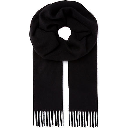 TIGER OF SWEDEN Uberti scarf (Black